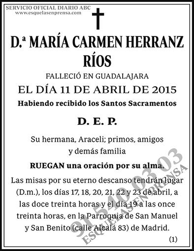 María Carmen Herranz Ríos